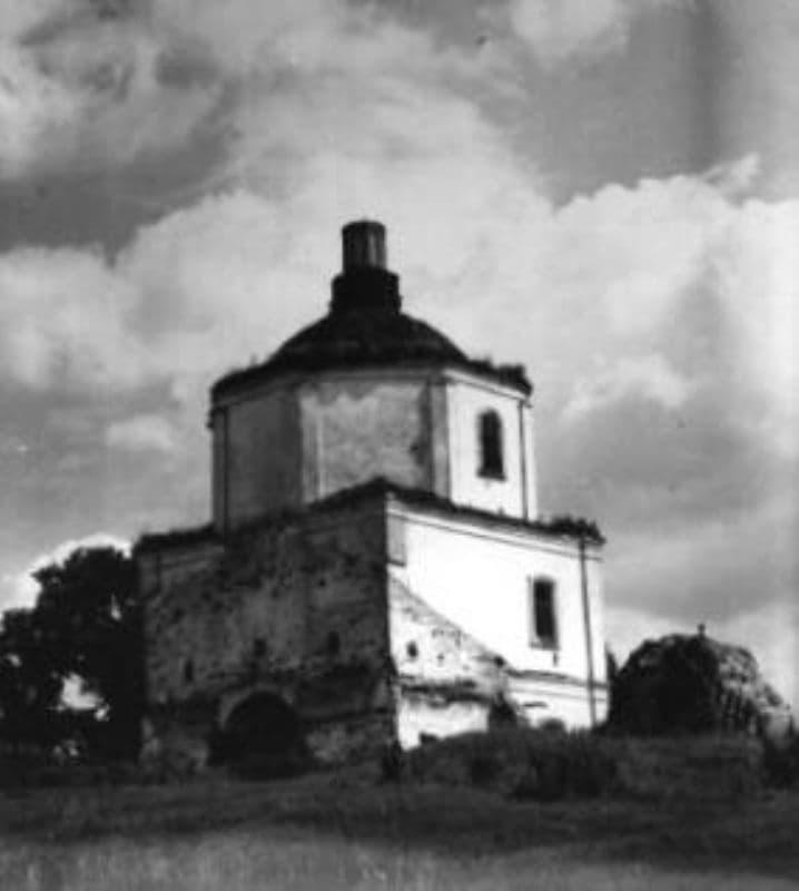 Церковь Николая Чудотворца конец 1971 год